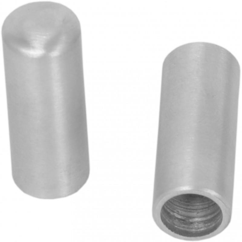 Aluminium wire rope cap