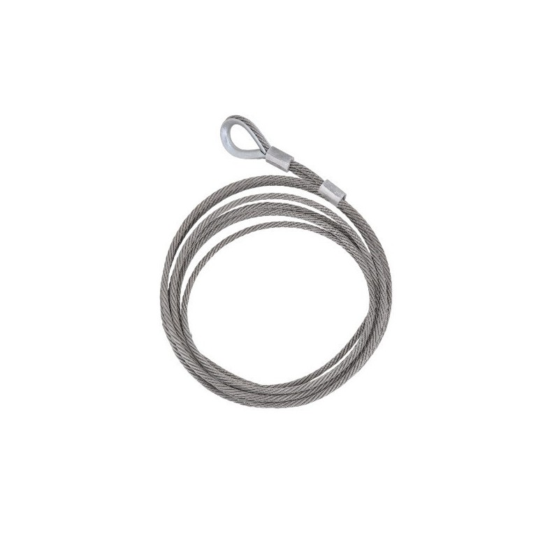 Stainless steel wire rope for fall arrest system