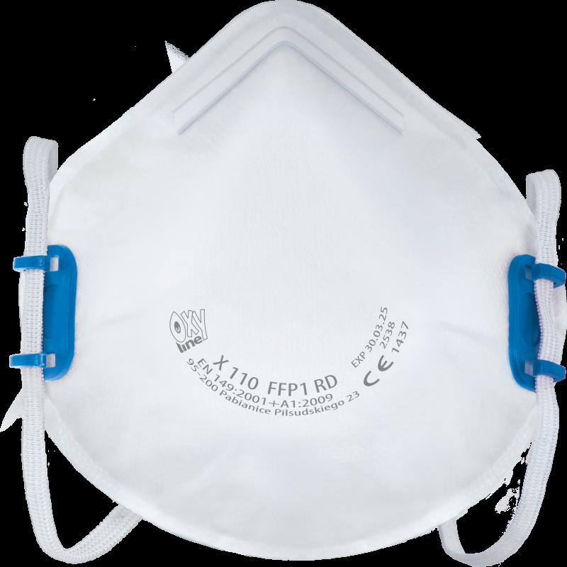 Półmaska filtrująca X 110 FFP1 R D