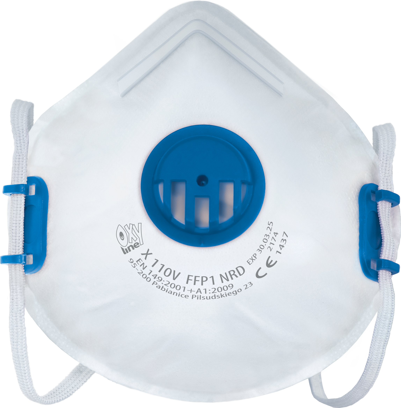 Filtering half mask X 110 V FFP1 NR D