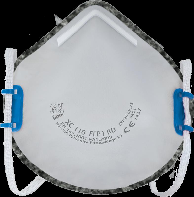 Filtering half mask - reusable XC110FFP1RD
