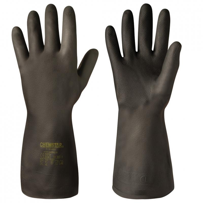 Neoprene Chemical Resistant Gloves Chemstar