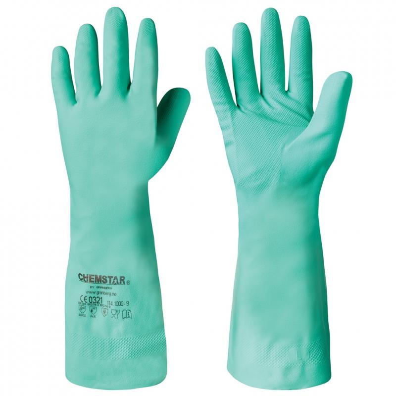 Nitrile Chemical Resistant Gloves Chemstar