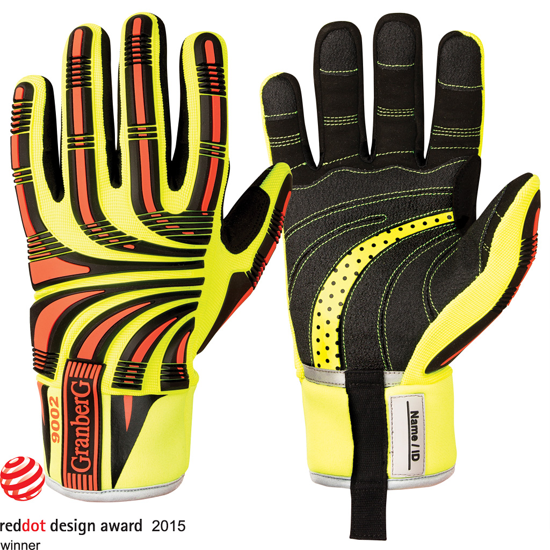 Cut D Impact Hi-Viz™ Protective Gloves