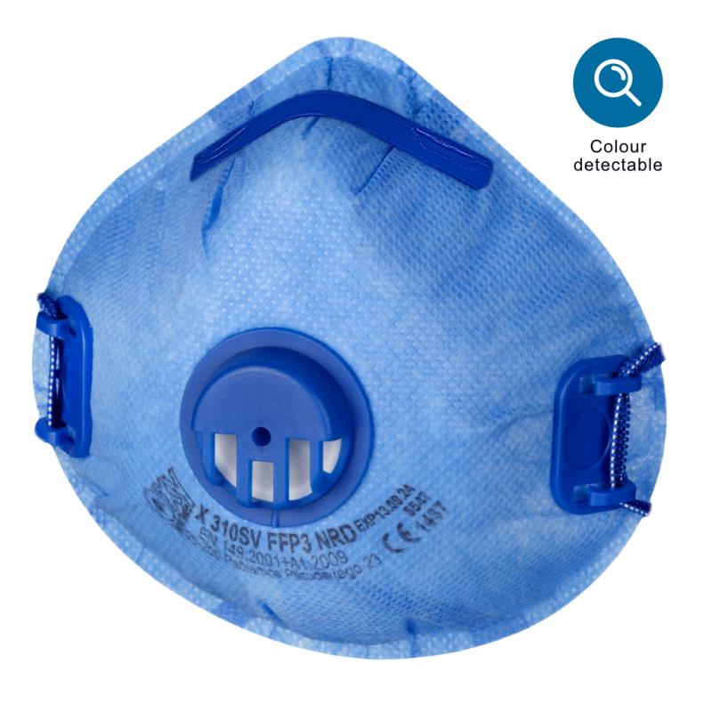 Filtering half mask X 310 SV FFP3 NR D BLUE