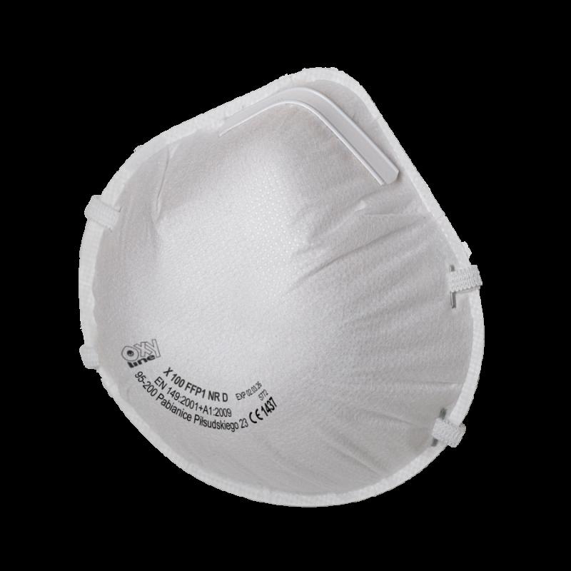 Filtering half mask X 100 FFP1 NR D