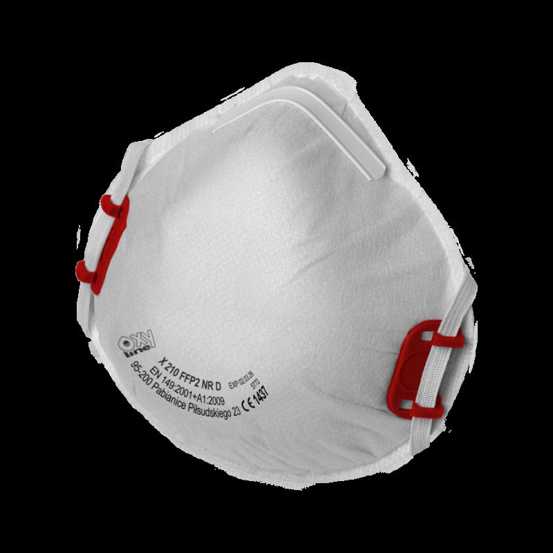 Mascarilla filtrante X 210 FFP2 NR D