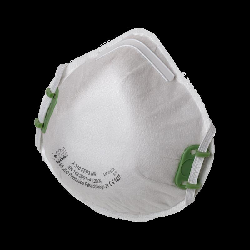 Filtering half mask: X 310 FFP3 NR