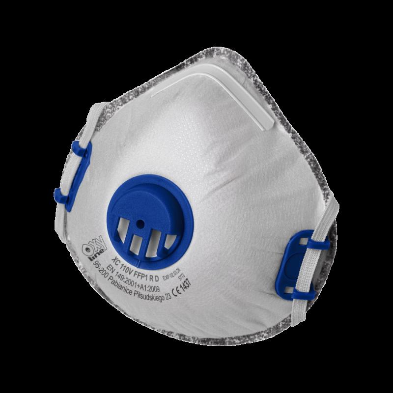 Filter respirator cupshaped XC 110 V FFP1 R D